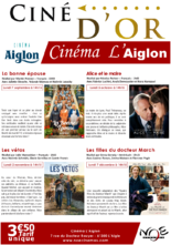 PROGRAMMATION CINÉ D'OR