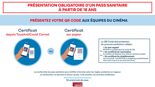 Information Pass Sanitaire